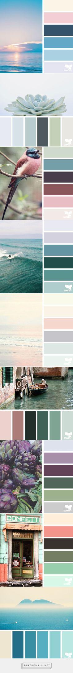 「芸術は自然から学べ!」 自然から抽出したカラーパレットが、想像以上に美しい件 後編:(*゚∀゚)ゞカガ��... - a grouped images picture - Pin Them All