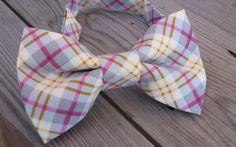 mens bow tie pink bow tie wedding groomsman bow tie wedding grey bow tie silver bow tie yellow bow tie ring bear bow tie graduation prom by KoppSHOPP on Etsy