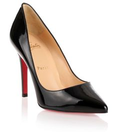 Pigalle 100 patent black pump from Savannahs