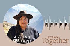 Jolie Varela, founder of #Indigenous Women #Hike, joins Kellee Edward on Let's Go Together. #bipoctravel #travel #indigenoustravel #letsgotogether