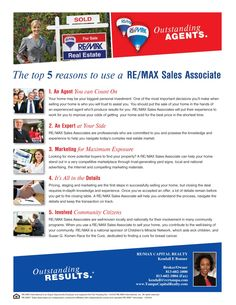 Real Estate Agent for You - Top 5 Reasons to Work with Me!