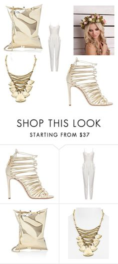 """""""Untitled #101"""" by dizdarevicnermina ❤ liked on Polyvore featuring Casadei, Anya Hindmarch and Robert Lee Morris"""