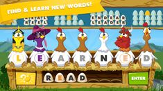 Chicktionary - A Game of Scrambled Words by Soap