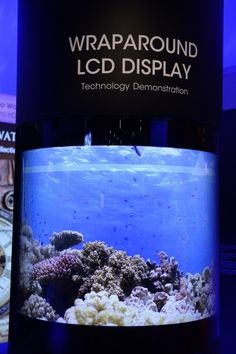 Sharp reveals new 4K, 8K and wraparound displays [Future Displays: http://futuristicnews.com/tag/display/]