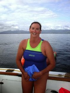 The Daily News of Open Water Swimming: At 25, Barbara Pellick Does Another Rotto