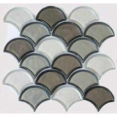 You'll love the Galaxy Mix 2'' x 6'' Glass Mosaic Tile in Silver Gray/Graphite at Wayfair - Great Deals on all Home Improvement products with Free Shipping on most stuff, even the big stuff.