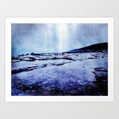 Beam in the Burren Art Print by uteb Art Prints, Digital Art, Wall Art, Nature Color Palette, Photography, Canvas, Image, Digital Art Design, Pictures