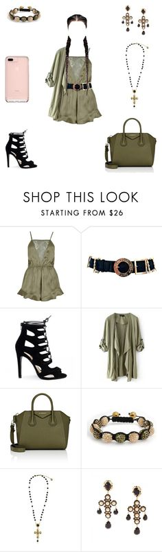 """""""If I was a Kardashian"""" by vgrenalde ❤ liked on Polyvore featuring River Island, Chanel, Givenchy, Bling Jewelry and Dolce&Gabbana"""