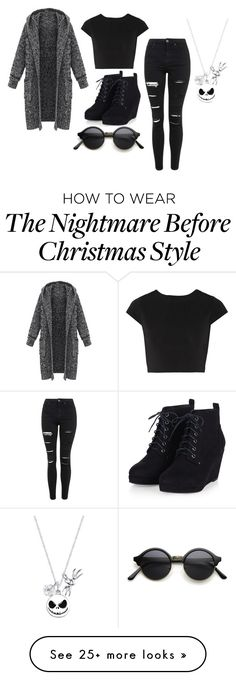 """Untitled #812"" by meganlovesmarilynmanson on Polyvore featuring Alice + Olivia, Topshop, Disney, women's clothing, women's fashion, women, female, woman, misses and juniors"