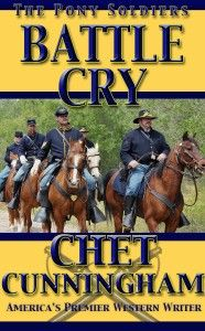 The Cheyenne are as tough and mean as they come, and the Pony Soldiers know what they're up against. Get captured and you may just be skinned alive, and what they'll do to your women folk can't be spoken about. This time the Pony Soldiers will ride into hell, and some won't ride out. Another great action adventure by America's premier western writer, Chet Cunningham.