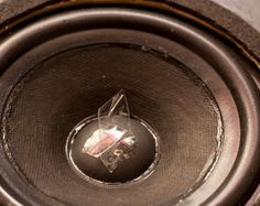 Re-foam Your Old Speakers : 18 Steps (with Pictures) - Instructables Diy Electronics, Electronics Projects, Carver Amplifier, Power Wire, Smart Home Automation, Speaker Design, High End Audio, Circuit Diagram, Paper Tape