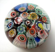 Scottish Glass Paperweights | ... -YSART-MILLEFIORI-PAPERWEIGHT-WITH-Y-CANE-SCOTTISH-ART-GLASS-VSART
