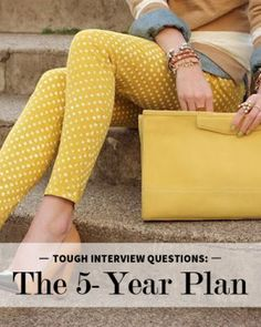 Dealing With Tough Interview Questions: The 5-Year Plan | Levo League | @The Prepary
