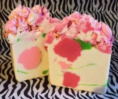 Luxurious Cold Process Artisan Soap Polly by MilancoSoaps on Etsy