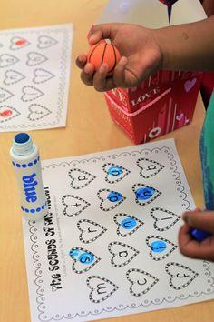 stamp letter of sound of item in basket - Mrs. Ricca's Kindergarten: Valentine's Day!