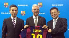 Suning se convierte en el primer patrocinador chino del FC Barcelona
