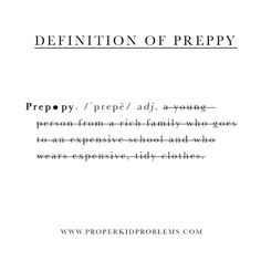 preppy meaning - Google Search