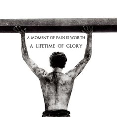 A Moment of Pain Is Worth A Lifetime of Glory - Louis Zamperini [Unbroken] Today Quotes, True Quotes, War Quotes, Warrior Quotes, Movie Memes, Movie Quotes, Unbroken Quotes, Angelina Jolie Movies, Favorite Book Quotes