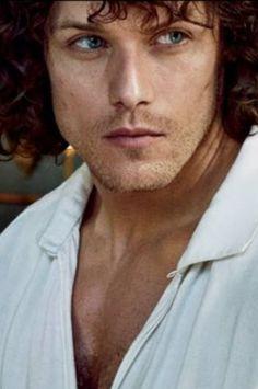 Outlander Season 2, Jamie and Claire, EW shoot, Sam Heughan
