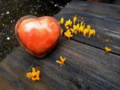 Anel Coração Calcita