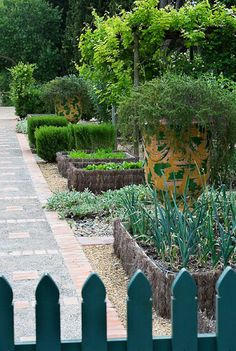 Potage garden by Dominque La fourcade one of Provence's best known Country Garden designers