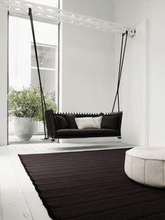 Kreative Wohnungsideen Für Möbel Zum Spaß Hängesessel Fürs Wohnzimmer