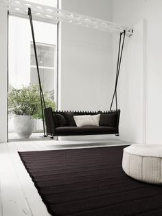 kreative Wohnungsideen für Möbel zum Spaß-Hängesessel fürs Wohnzimmer