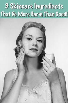 Discover the 3 shocking skincare ingredients that do more harm than good! http://blog.beefriendlyskincare.com/skincare-banned?utm_source=pinterest&utm_medium=ads&utm_term=ad1&utm_content=ad1&utm_campaign=ad1