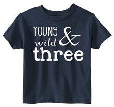 Toddler 3rd Birthday Shirt SOFT  Three Year Old by JackOfNone