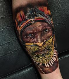 Realistic tattoo by Orbis Lopez
