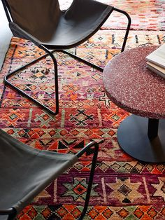 The colors in the rug are <3
