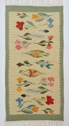 Handmade Wool Area Rug in Pale Colors Genuine Traditional Romanian Folk Art | eBay