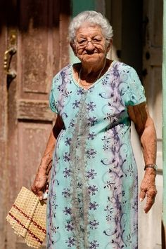 Old Age- ask her about something- she knows much!!