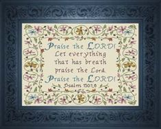 Praise The LORD! Psalm 150:1 and 6