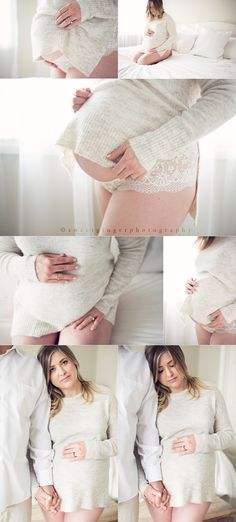 Sweet Ginger Photography www.sweetgingerphotography.com maternity lifestyle photography neutral lingerie maternity