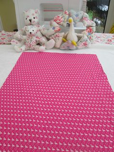 BN Haberdashery Cotton Remnant In Pink Flamingo For Crafts Etc