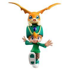 Digimon Adventure G.E.M. Series Figur T.K. Takaichi & Patamon - www.mrbento.de