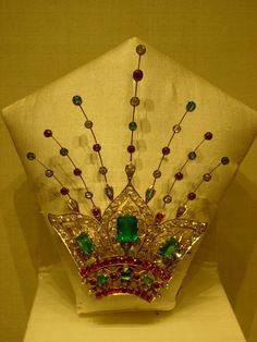 Royalty & their Jewelry - Brooches of Nizam of Hyderabad