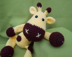 Háčkovaná žirafa Sofie - návod Vlastní podrobný návod na autorskou háčkovanou hračku pro děti. Návod obsahuje doporučené materialy, podrobný postup i s obrázky. Při použití doporučených přízí je žirafa cca 30cm vysoká. Materiál: 100% Akryl, háček č. 4 Náročnost: lehké Časová náročnost: cca 8 hod (začátečník) Formát: PDF Po zaplacení Vám oděšlu návod ...