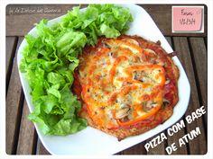 As Delícias das Guerreiras: Pizza com base de atum                                                                                                                                                     Mais