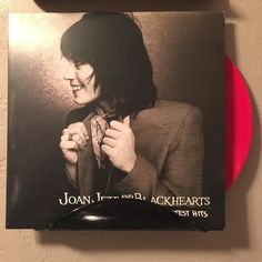 Joan Jett and the Blackhearts | Greatest Hits | Cherry Blossom Red from Newbury Comics  #record #recordplayer #recodcollection #vinyl #vinyligclub #vinylcollection #turntable #lp #nowspinning #joanjett #jar996joanjett #cherryblossomred by jar996