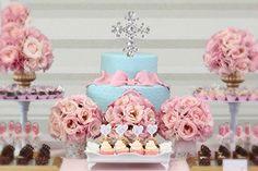 Amazon.com: Baptism Cake Topper Christening Silver Cross Baby Boy Girl Communion Wedding Keepsake Decoration: Kitchen & Dining