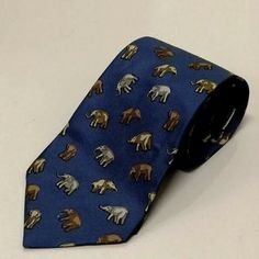 99a7bf4bfe6d Jim Thompson Men Neck Tie Blue Square Elephant Vintage Thai Silk 543.5 inch  #fashion #clothing #shoes #accessories #mensaccessories #ties (ebay link)