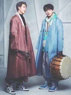 New fashion asian korean traditional clothes 22 ideas Korean Traditional Clothes, Traditional Fashion, Traditional Dresses, Namjin, Korean Dress, Korean Outfits, New Fashion, Korean Fashion, Fashion Clothes