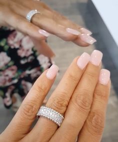 Wedding Band Nails Wedding Band… is part of Wedding nails French Tip - Wedding nails French Tip Love Nails, How To Do Nails, Pretty Nails, My Nails, Dream Nails, Purple Wedding Nails, Mauve Wedding, Band Nails, Nagellack Trends