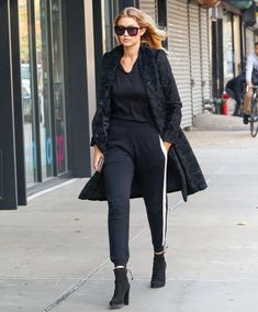 6 Ways to Rock Sweatpants in Public—and Still Look Good - Gigi Hadid - from InStyle.com