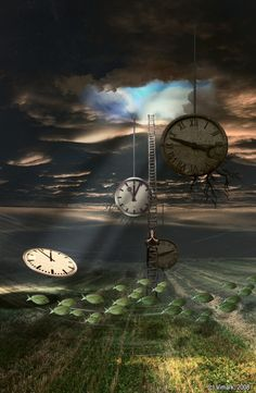 ♂ Dream imagination surrealism art parallel_dreamer_by_vimark