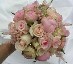 Brudebuketter - www.blomsterromantik.dk
