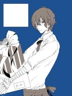 Dazai looks like Miyamura Izumi from Horimiya here :P