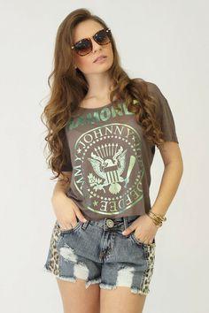 Blusa Ramones R$ 36,90